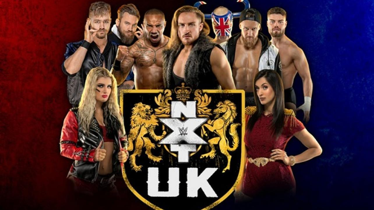 NXT U.K. TV Spoilers From 11/25 Taping