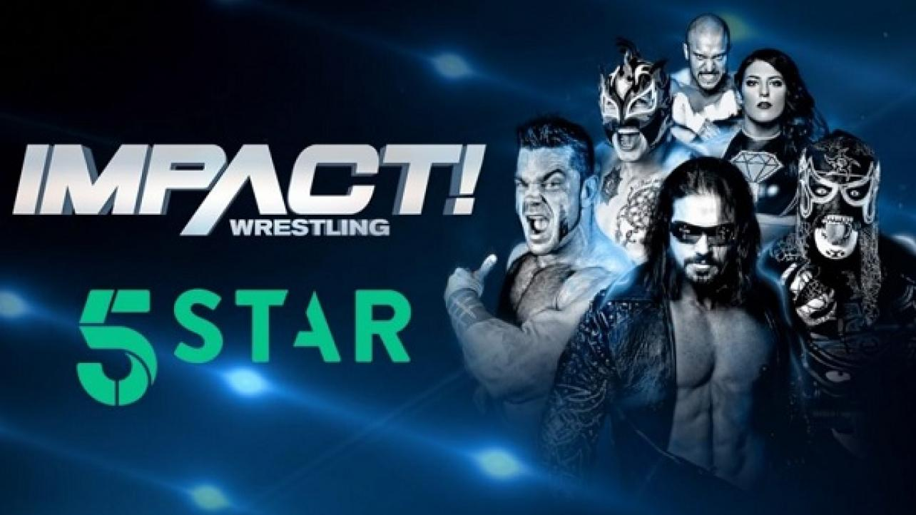 Impact Wrestling & 5Star Announce New Deal