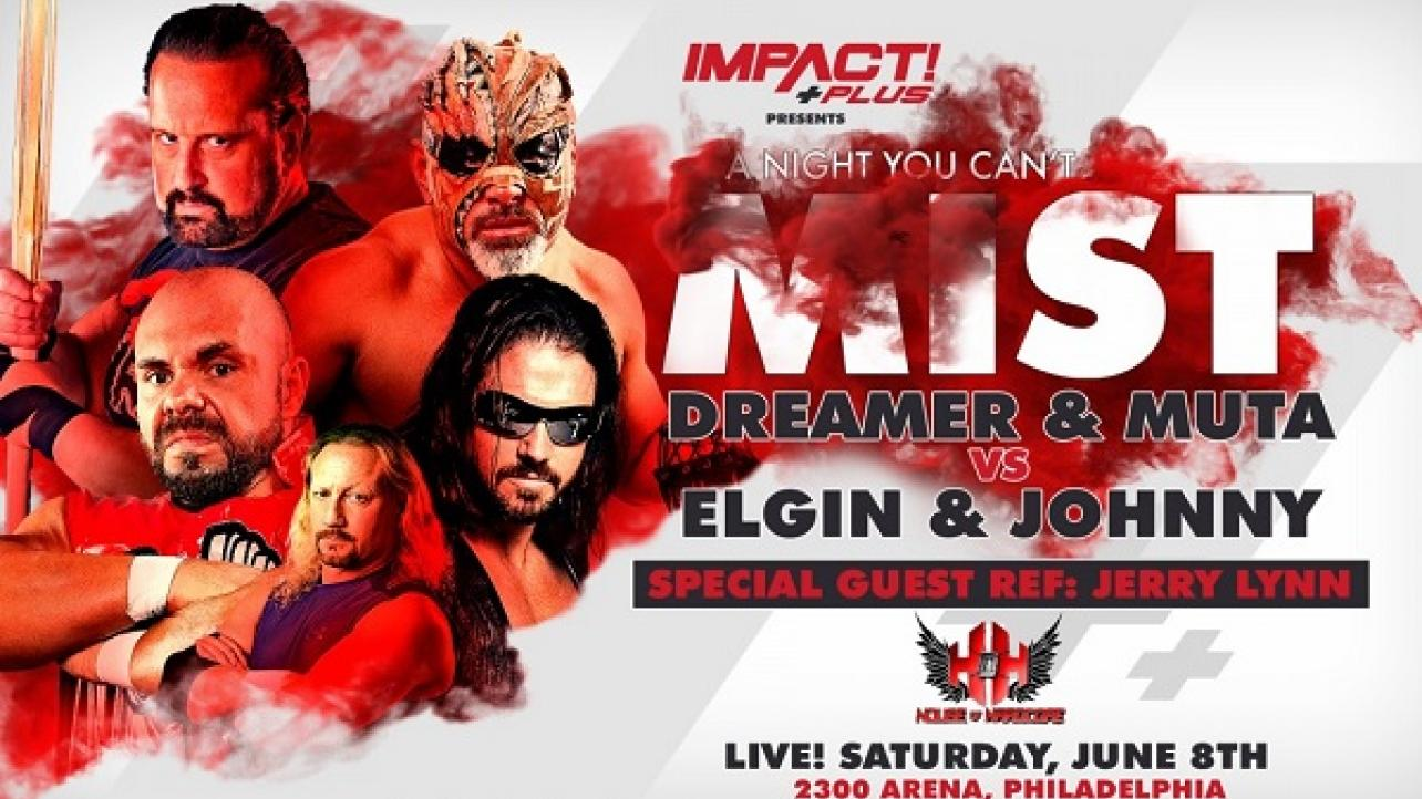 "Impact Wrestling ""A Night You Can't Mist"" 2019 Results"