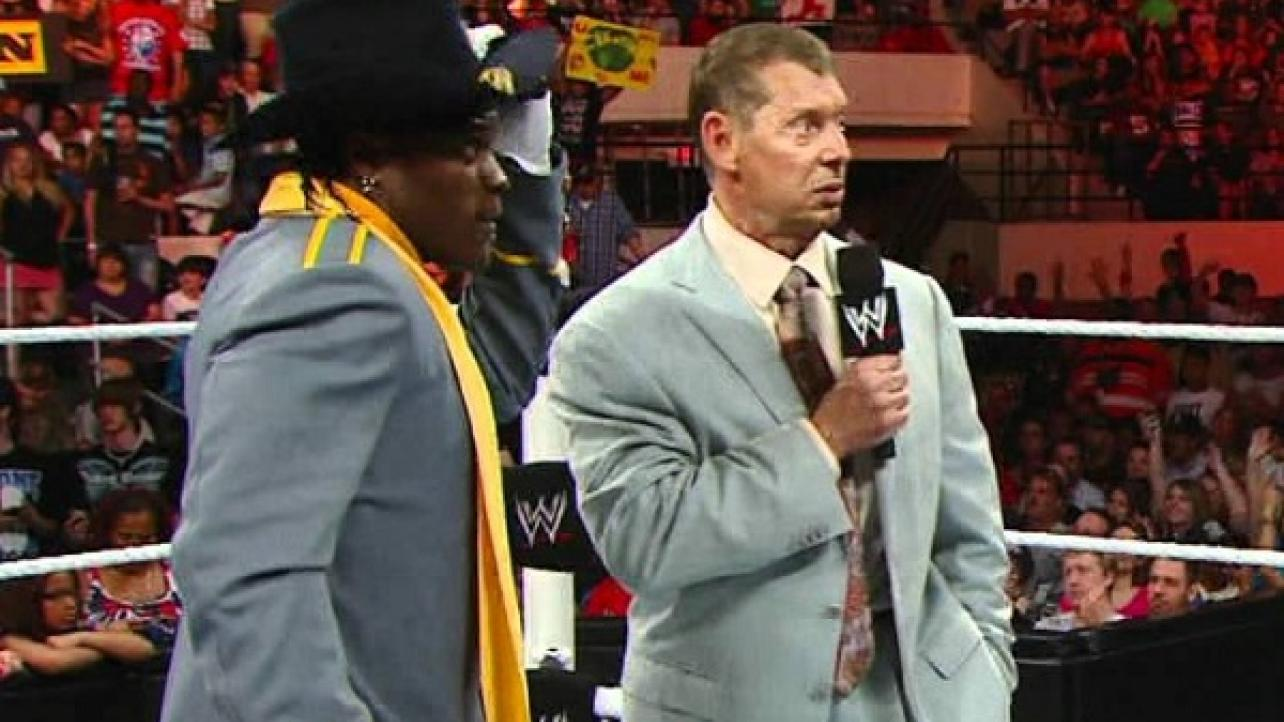 Details On Vince McMahon & R-Truth's Working Relationship Over The Years In WWE (6/23/2019)