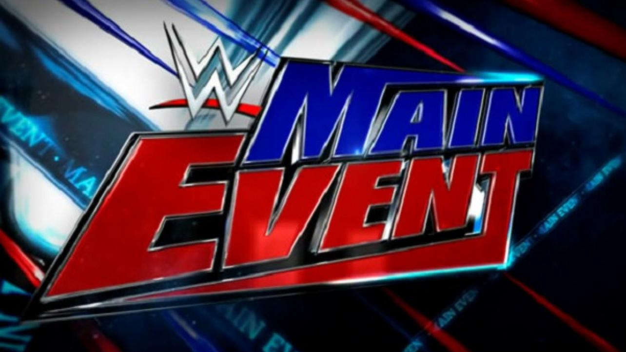 WWE Main Event *SPOILERS* For This Week (9/9/2019)