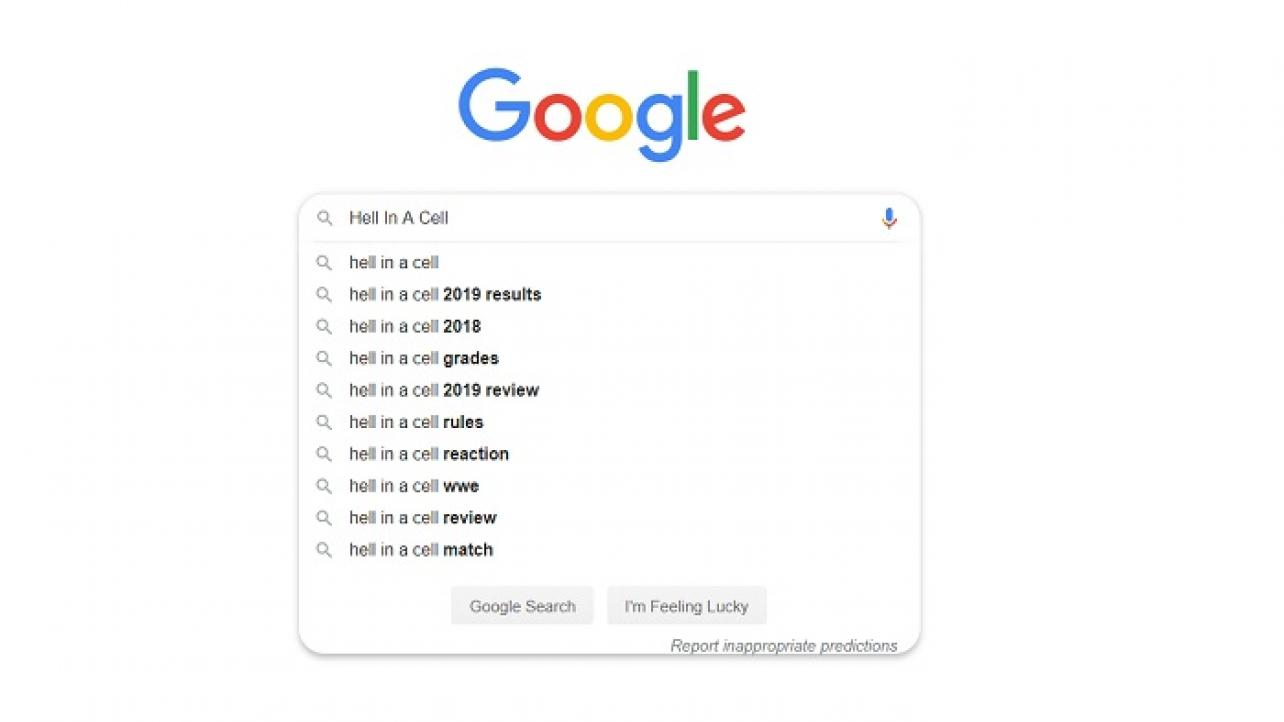 Google Search News Coming Out Of A Busy Week Of WWE & UFC Shows (10/8/2019)