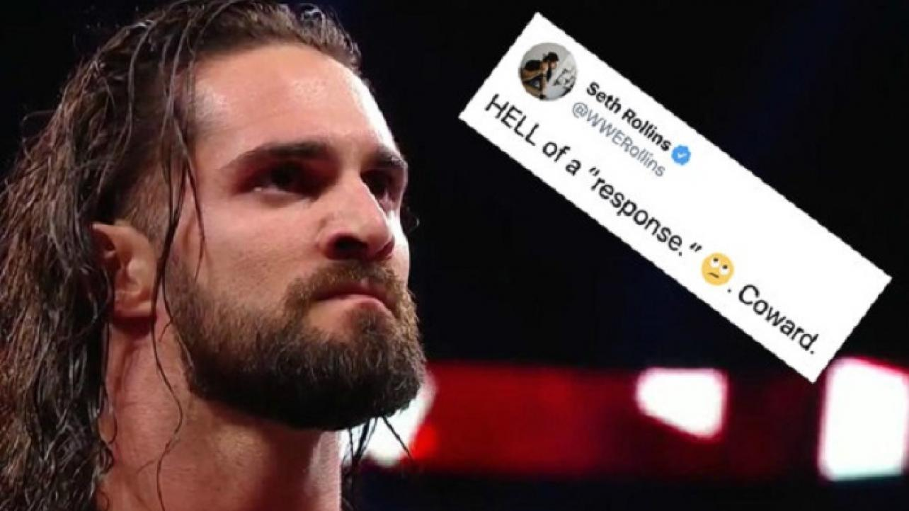 "Seth Rollins Calls CM Punk A ""Coward,"" Mocks Him For A ""Hell Of A Response"" (11/20/2019)"