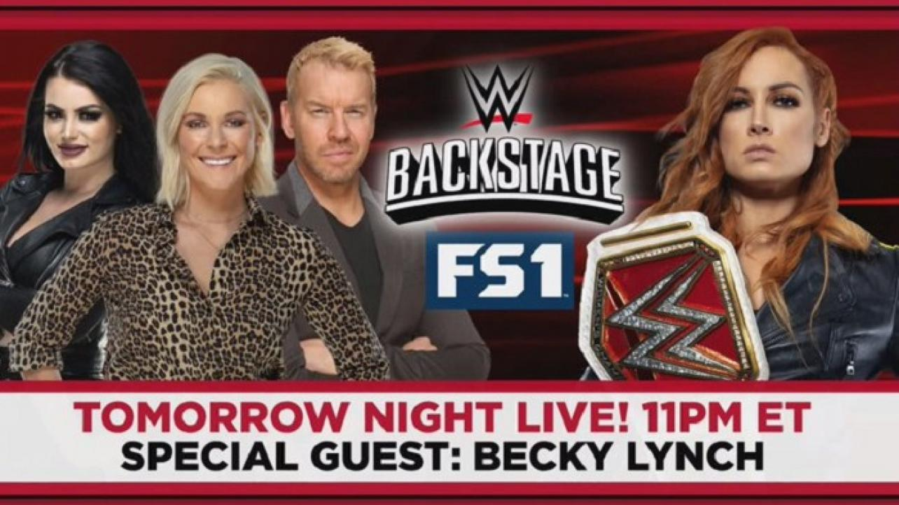 Becky Lynch Set As Guest For WWE Backstage On Fox Sports 1