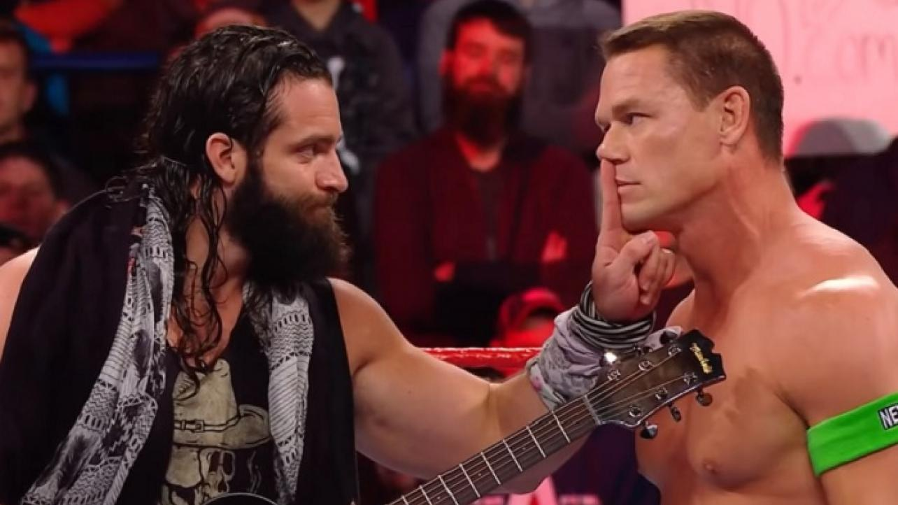 Update On Plans For Elias vs. John Cena At WrestleMania 36