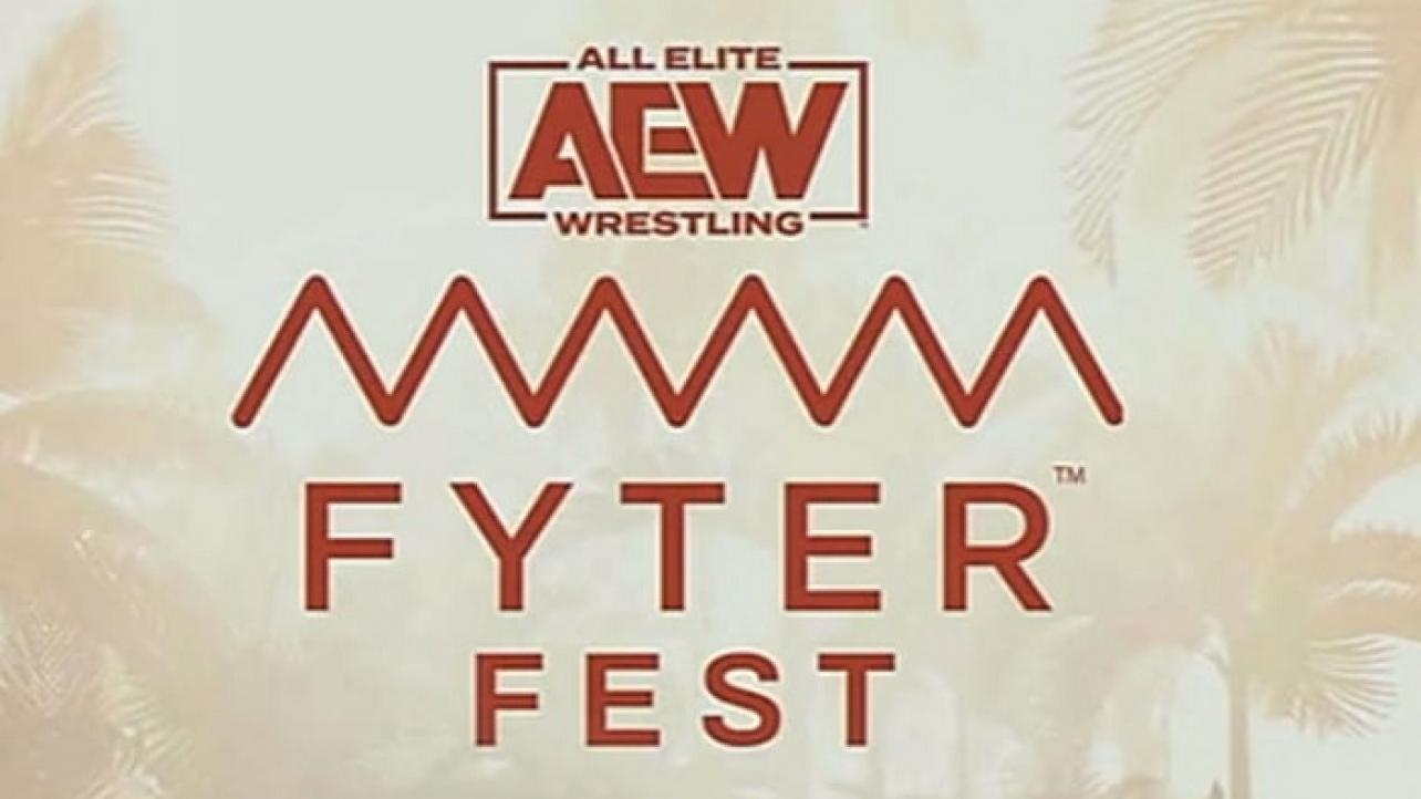 AEW FYTER FEST RESULTS (Night 2)