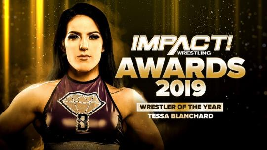 Tessa Blanchard Wins 2019 Year-End IMPACT! Winner