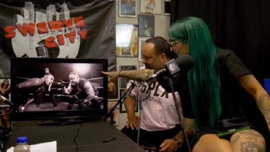 Ruby Riott On Swerve City Podcast Episode 26